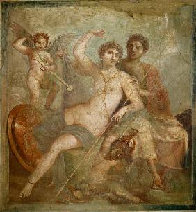 Mars and Venus from the House of Mars and Venus (Casa de Marte e Venere) Pompeii