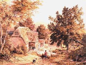 A Farmyard near Princes Risborough 1845/6  on