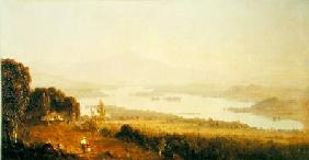 Lake Winnipiseogee 1858