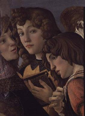 Angels from the Madonna della Melagrana (detail of 44340)