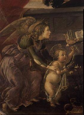 Detail from the Madonna del Padiglione