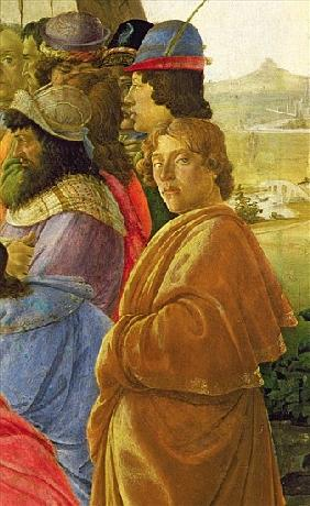 Detail of the Adoration of the Magi (see also 395)