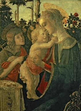 Madonna and Child with St. John the Baptist (for details see 93885, 93887)