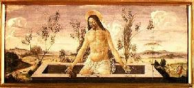 Predella panel depicting the Resurrection, from the St. Barnabas Altarpiece