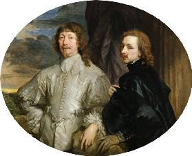 Sir Endymion Porter (1587-1649) and the Artist c.1623