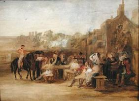 Study for 'Chelsea Pensioners Reading the Waterloo Dispatch' 1822