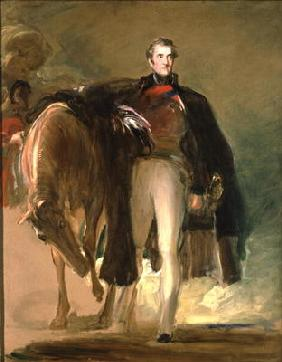 The Duke of Wellington and his Charger `Copenhagen' 1677