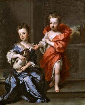 Two Children, perhaps of the Howard Family 1694