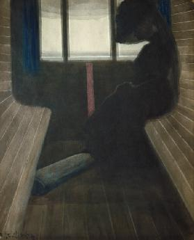 The Woman on the Train, The Widow 1908