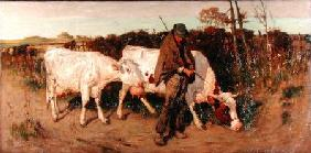 Returning from Pasture 1890