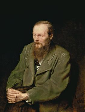 Portrait of Fyodor Dostoyevsky (1821-81)