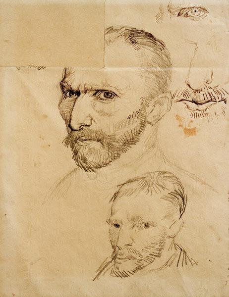 Vincent van Gogh / self-portraits.