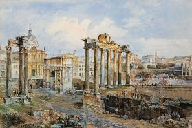 The Forum, Rome 1878