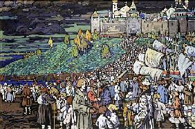 Arrival of the Merchants 1905