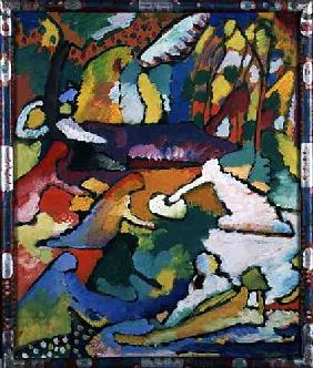 Sketch on Composition 2 (fragment) 1910
