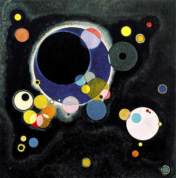 Sketch for Several Circles 1926
