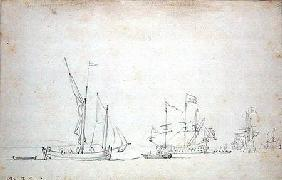 Ships from Sluis 1677 cil o