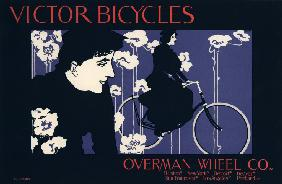 Victor Bicycles, Overman Wheel Co (Plakat)