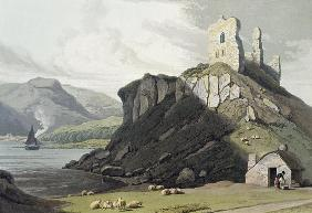 Arros Castle, Isle of Mull, from 'A Voyage Around Great Britain Undertaken Between the Years 1814 an 1608