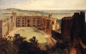 Arundel Castle from the Keep, 1823 (oil on canvas) 15th