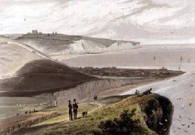 Dover, from Shakespeare's Cliff from 'A Vo