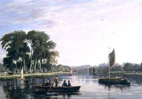 View on the Thames at Richmond