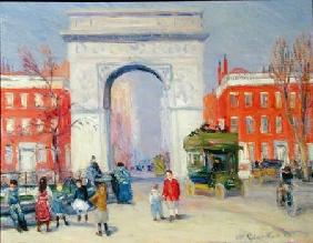 Washington Square Park c.1908