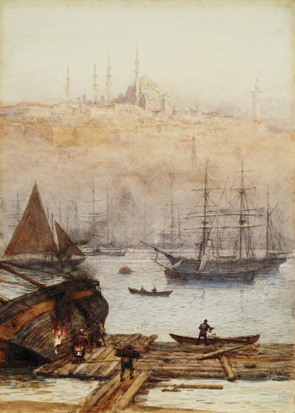 The Golden Horn 1896  on