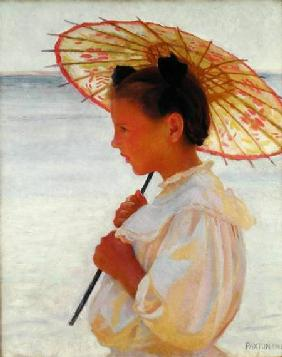 Girl with a Chinese Parasol 1908