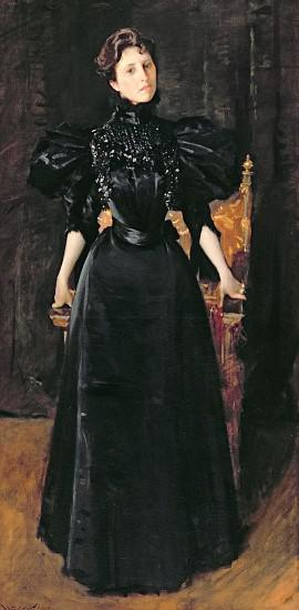 Portrait of a Lady in Black 1895