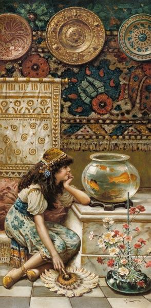 Goldfish, from the Pears Annual, Christmas 1893