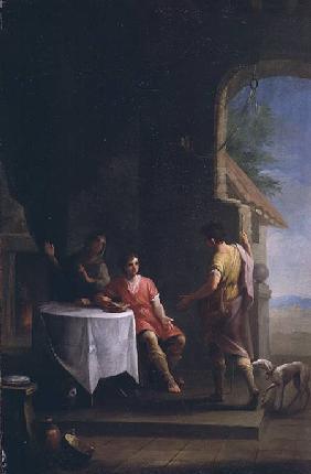 Esau selling his Birthright to Jacob c.1790-180
